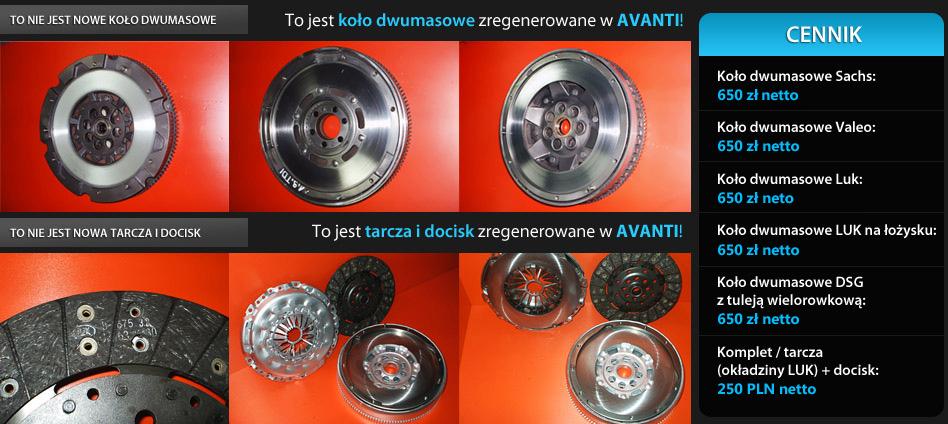 Zregenerowane koło do Renault Premium